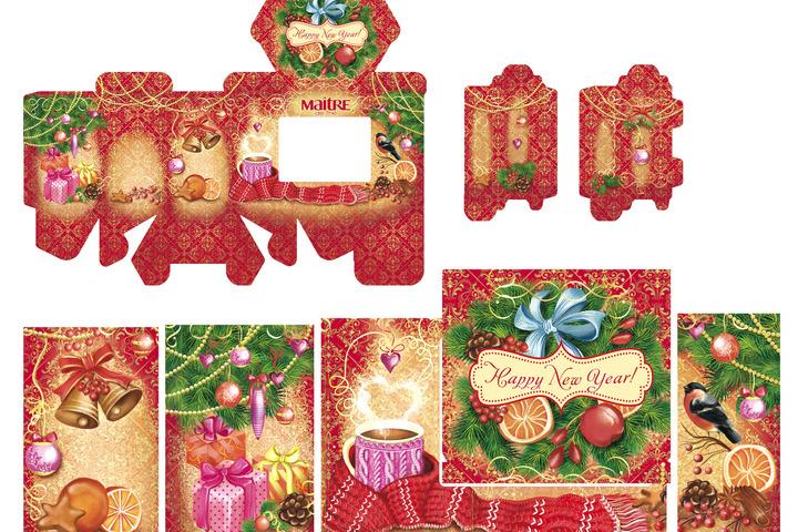 Оформление новогодних подарков - 1008969