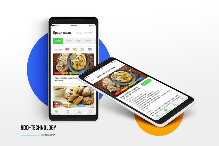 Дизайн мобильного приложения - 1012621