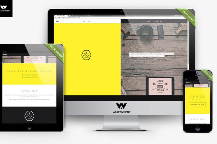 Разрабатываем сайты с адаптивным веб-дизайном под все устройства! - 1025941