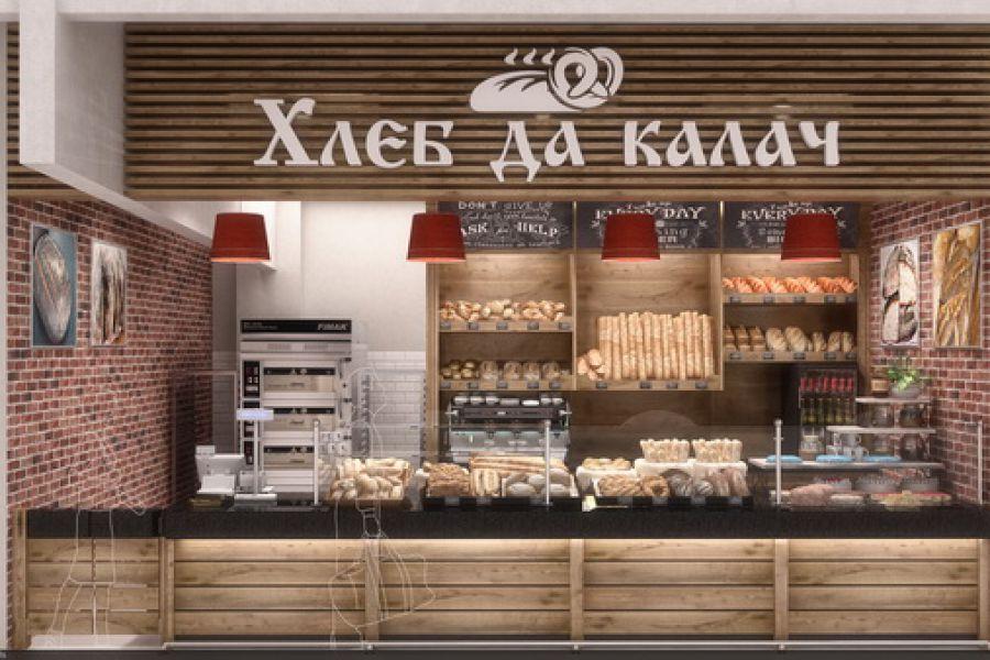 3D визуализация кафе для фудкорта 50 000 руб. 14 дней.