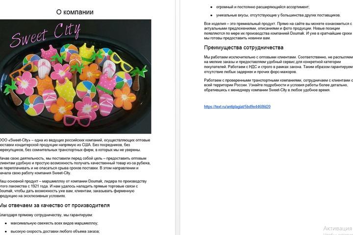 """Продающий текст """"О компании"""" - 1028732"""