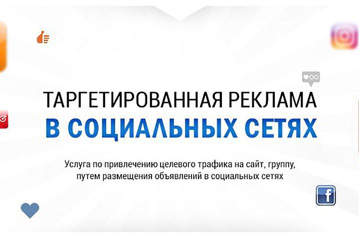 Таргетированная реклама в Соц.Медиа - 1051576