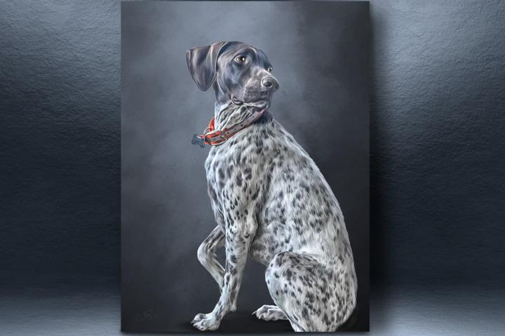 Digital Pet Portrait (цифровая живопись по вашему фото) - 1057400