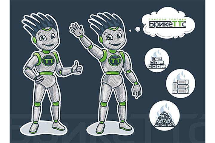 Разработка фирменного персонажа (маскота) - 1068381