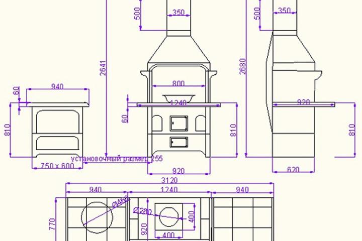 Проектирование барбекю комплексов - 1069585