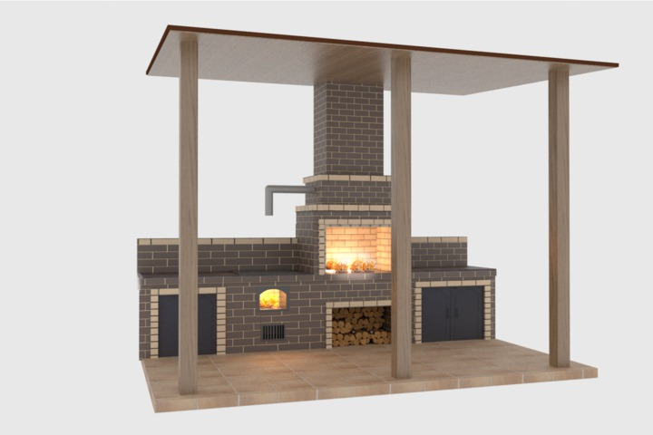 Проектирование барбекю комплексов - 1069587