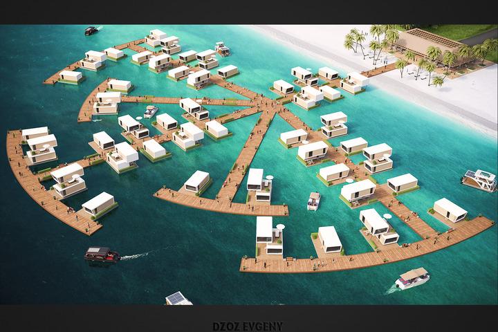 3D Визуализация планов строительства, застройки - 1071294