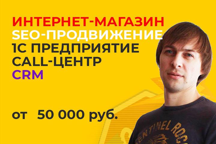 Запуск интернет магазина от 50 000 рублей - 1081603