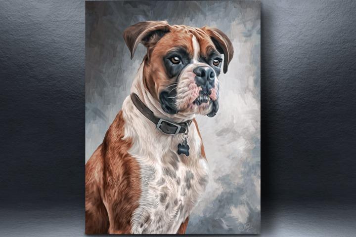 Digital Pet Portrait (цифровая живопись по вашему фото) - 1095208