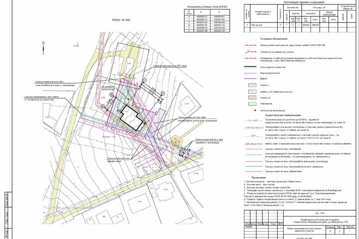 Схема планировочной организации земельного участка - 1125072