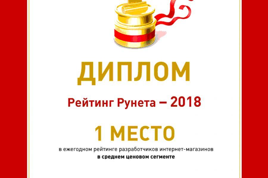 Интернет-магазин для индивидуального предпринимателя 57 780 руб. 25 дней.