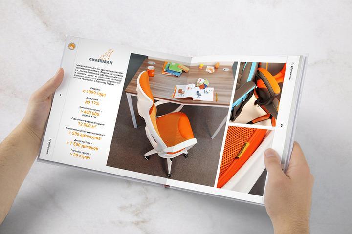 Верстка каталога, журнала, брошюры (цена за полосу) - 1130468
