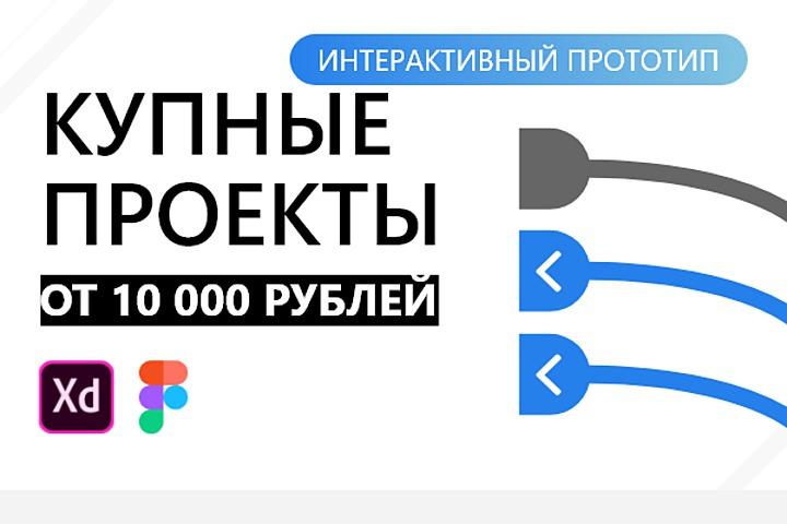 Дизайн крупного проекта или сайта компании - 1156427