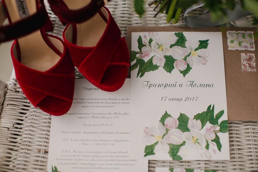 Экспресс-разработка свадебных приглашений 6 000 руб. за 10 дней.