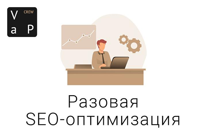 Разовая SEO-оптимизация - 1206746