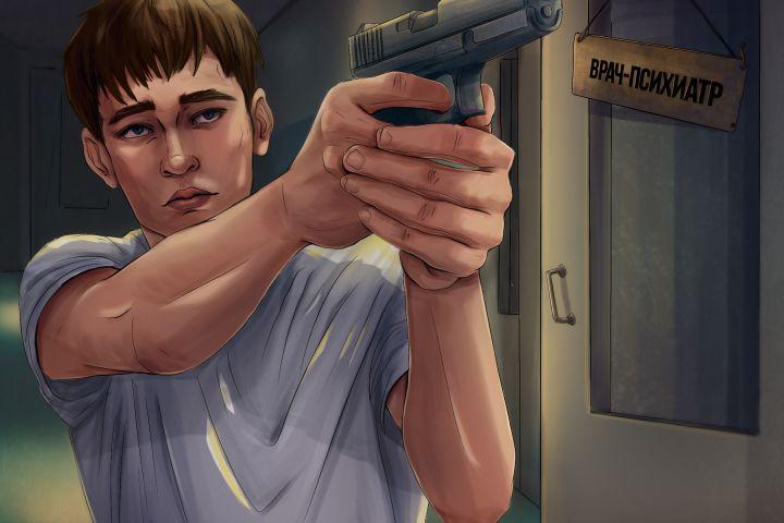 Иллюстрация в стиле GTA - 1219838