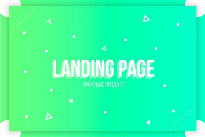 "Landing Page ""под ключ"" - 1258998"