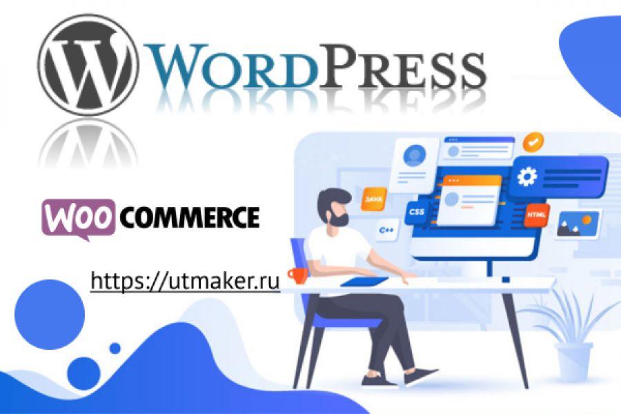 Создание интернет-магазина WordPress 20 000 руб. за 14 дней.