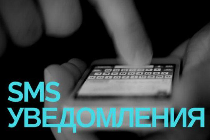 Настройка SMS уведомлений - 1277755