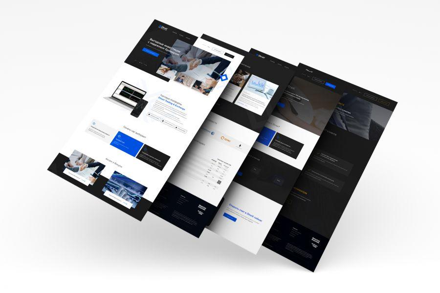 """Разработка сайтов """"под ключ"""" с индивидуальным дизайном 50 000 руб. за 21 день."""