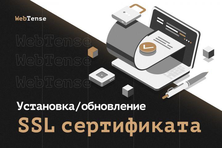 Установка / обновление SSL сертификата (HTTPS на сайт) - 1304214