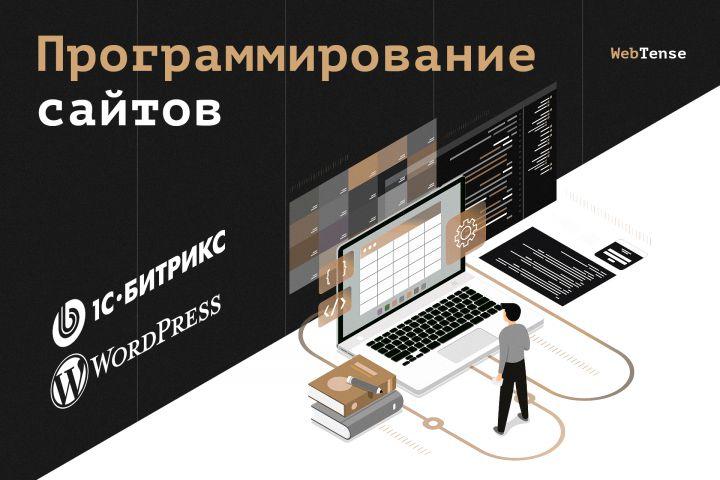 Программирование сайта на 1С Битрикс, Wordpress - 1305950