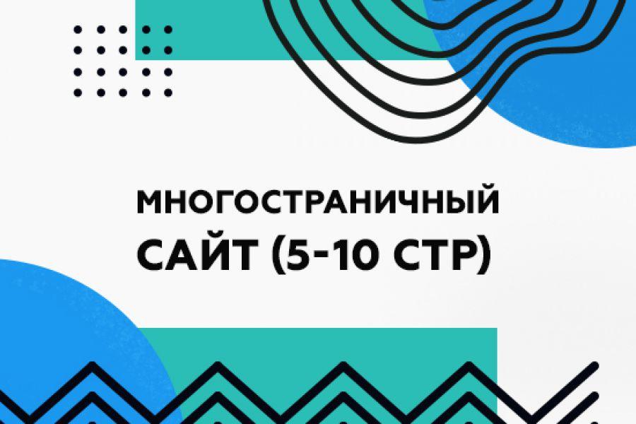 Многостраничный сайт под ключ на Тильде 30 000 руб. за 20 дней.