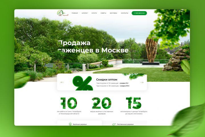 Дизайн сайта + мобильная версия - 1339381
