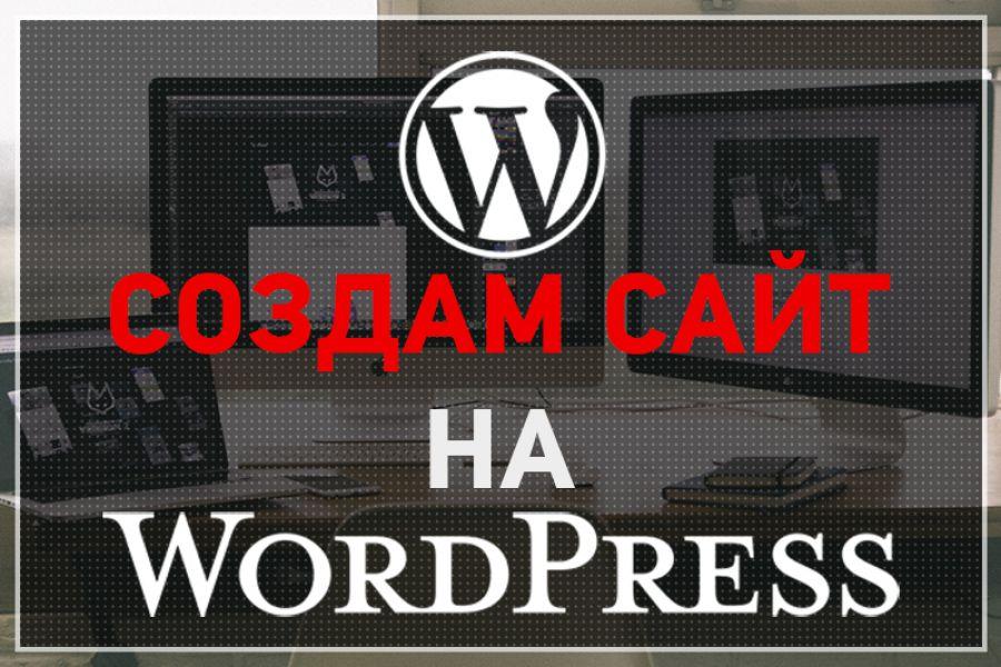 Создание сайта на CMS Wordpesss 30 000 руб. за 7 дней.