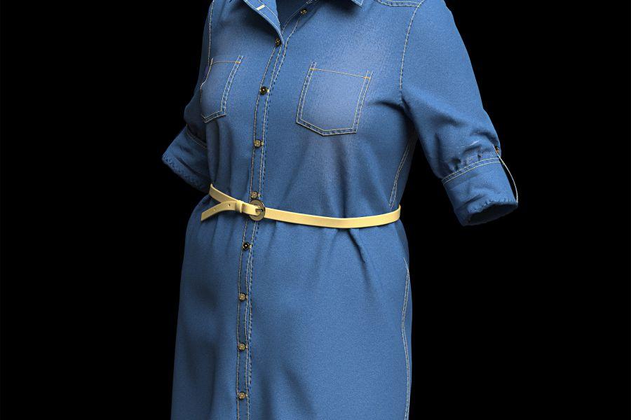 3D дизайн одежды, визуализация одежды 17 000 руб. за 14 дней.