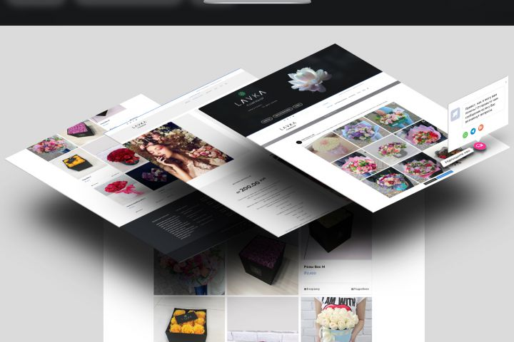 Разработка интернет магазина - 1381045