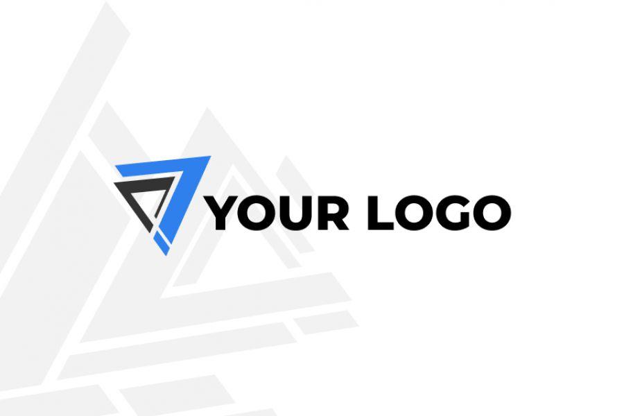 Продаю: абстрактное лого и фоновый орнамент