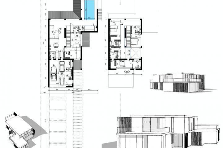 Архитектурная концепция. Варианты. - 1391589