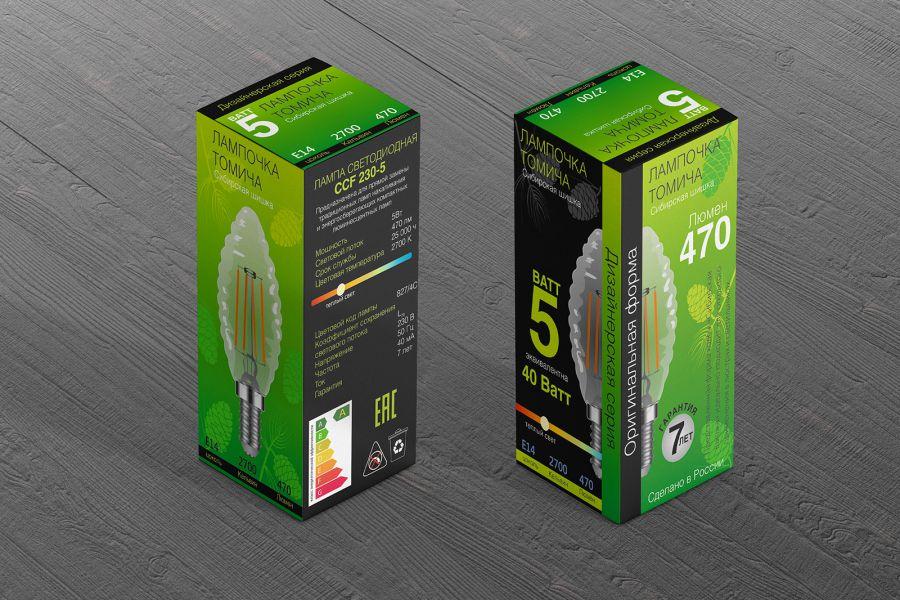 Дизайн коробки 6 000 руб. за 7 дней.