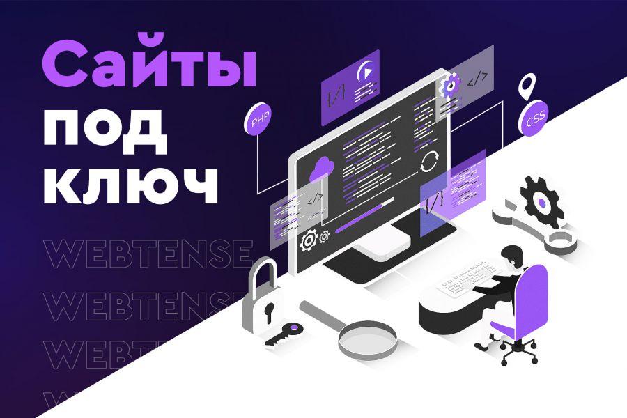 Создание сайта под ключ 50 000 руб. за 20 дней.