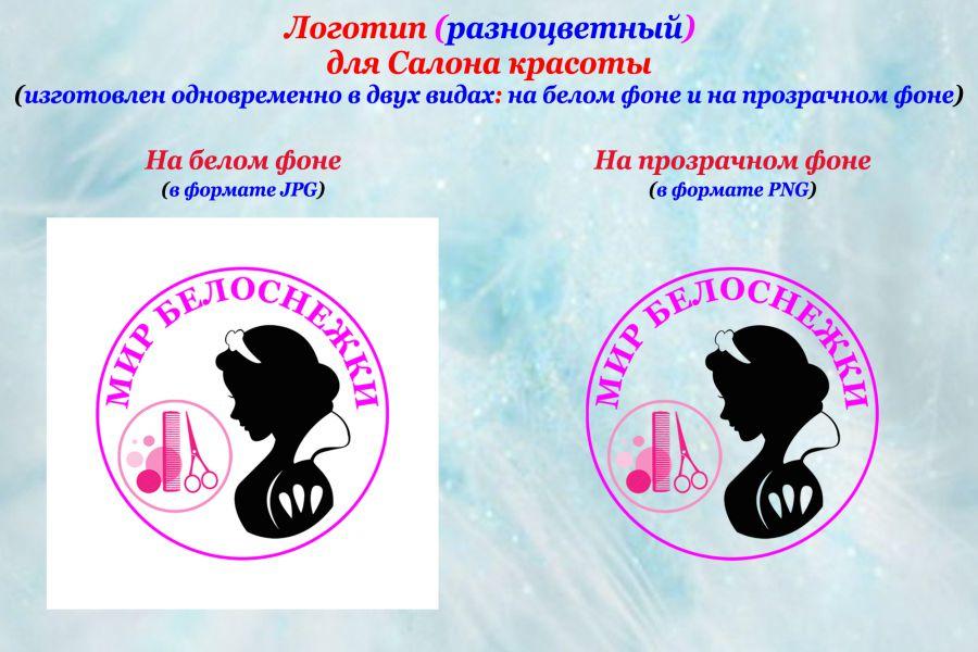 Разработка и дизайн логотипа 3 000 руб. за 2 дня.