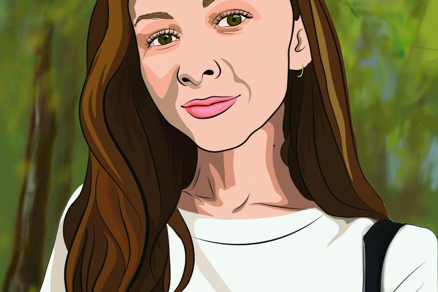 Продаю: Портрет выполненный в векторе
