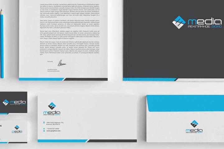 Разработка фирменного стиля компании - 935251