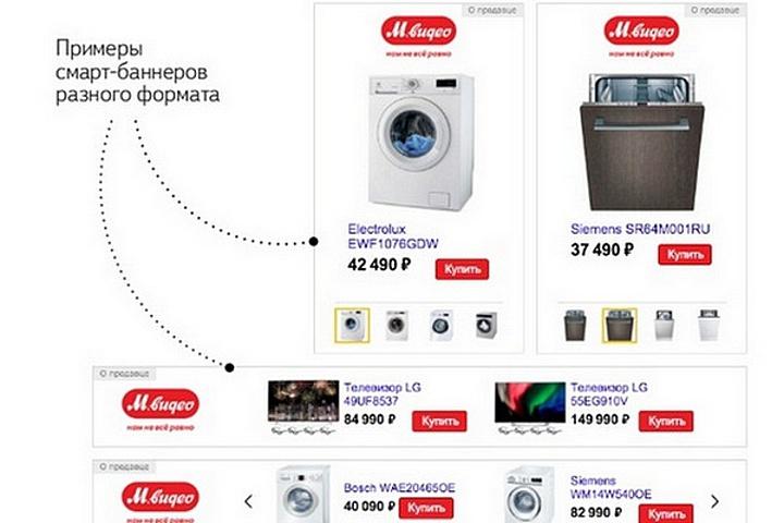 Смарт-баннеры Яндекс Директ - 959356