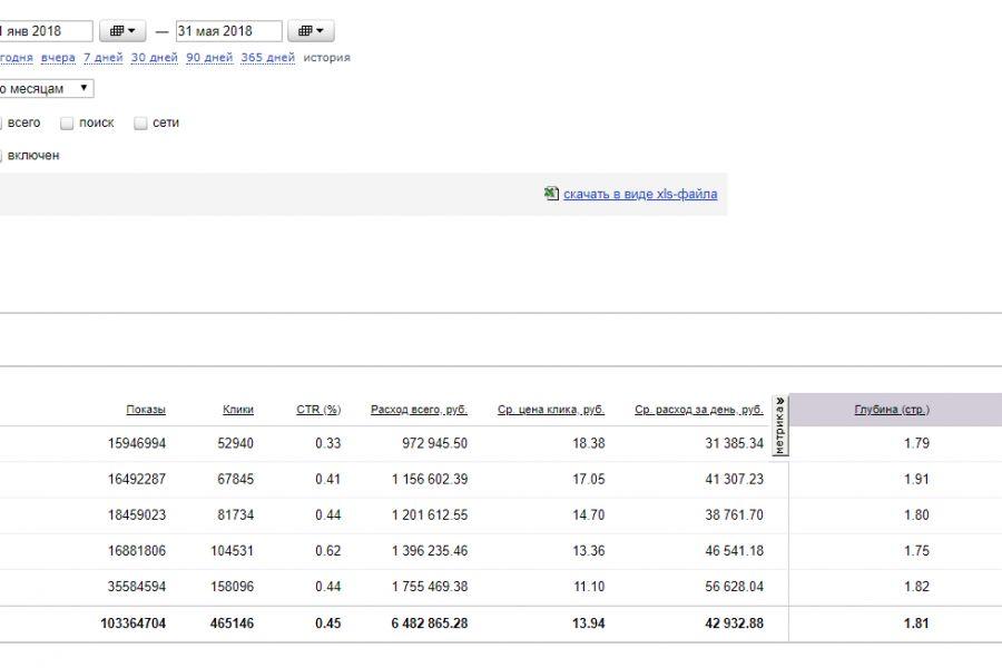 Настройка контекстной рекламы Яндекс. Директ + 3 недели ведения бесплатно 11 000 руб. за 7 дней.