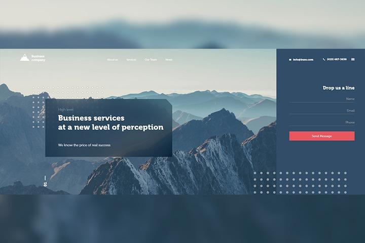 Современный дизайн для Вашего сайта - 989381