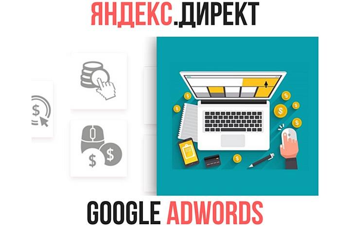 Настройка и ведение Яндекс.Директ / Google AdWords - 996530