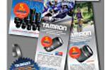 """стиль 5-летней гарантии компании """"Tamron"""""""