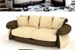 Модель и образмеривание дивана с фото