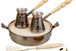 Фотосъёмка посуды и аксессуаров для чая и кофе.