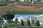 Визуализация проекта по ландшафтному дизайну