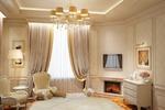 Дизайн и визуализация спальни в классическом стиле