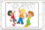 Иллюстрация-головоломка для детского издания