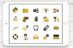 Набор иконок для главной страницы сайта