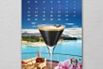 """Календарь для кофейной компании """"Омни"""""""
